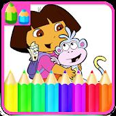 Download Princess Coloring Book - dora APK to PC