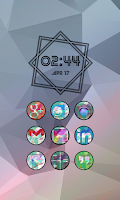 Screenshot of Retro Icon Pack Nova/Apex/Holo