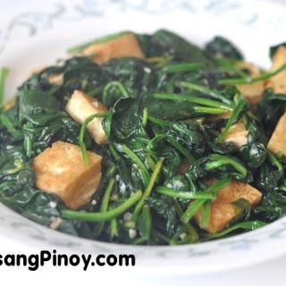 Spinach Tofu Recipes