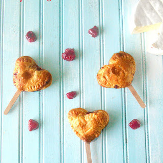 Raspberry Danish On A Stick