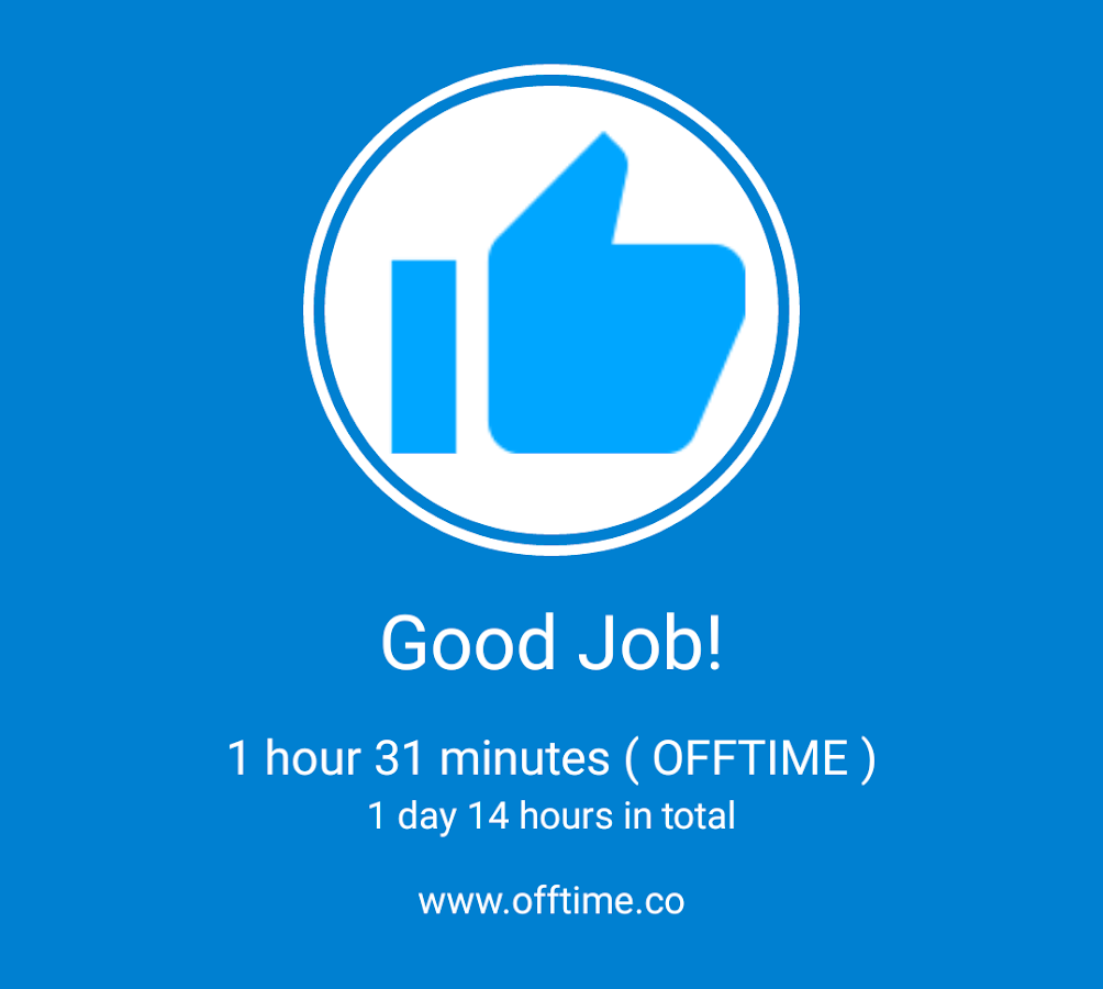 ( OFFTIME ) - Distraction Free Screenshot 5