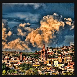 san miguel de allende, mexico by Jim Knoch - Landscapes Weather