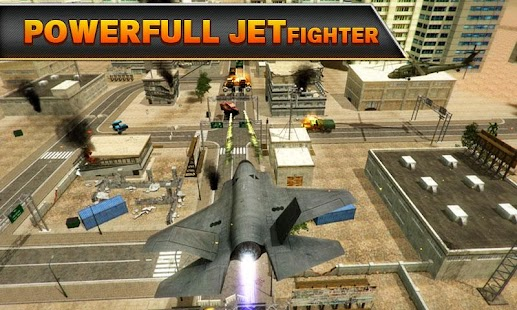 Jet Fighter Robot Wars APK for Bluestacks
