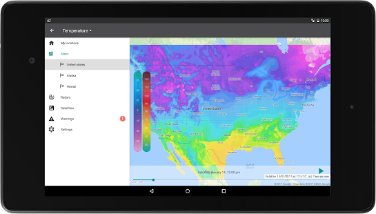 Free Weather 14 days APK for Windows 8