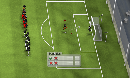 Stickman Soccer 2014 screenshot 4