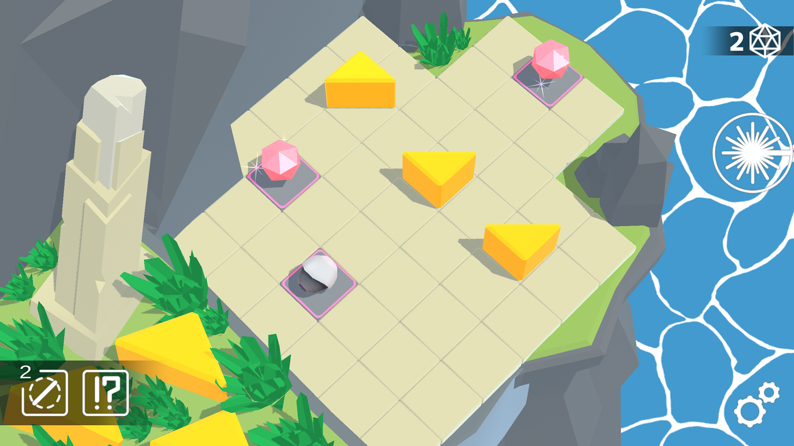 Laserix: Puzzle Islands Screenshot 3