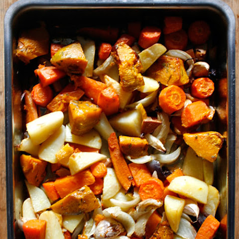 Lemon-and-Herb-Roasted Vegetables