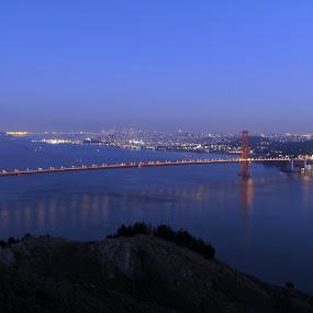 San Francisco Bay Bridge by Gerrit vd Merwe - Novices Only Landscapes