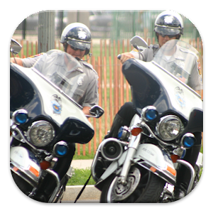Police Motorcycles City Patrol