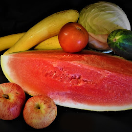 My veggies and fruits by Mary Gallo - Food & Drink Fruits & Vegetables ( fruits, nature, nature up close, veggies, food,  )
