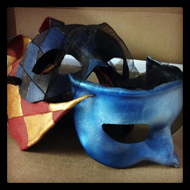 Leather mask projects. by Maggy Marsh - Artistic Objects Clothing & Accessories