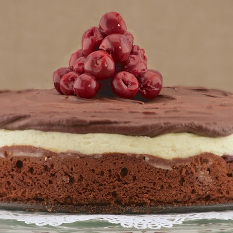 Chocolate Cherry Mascarpone Cake