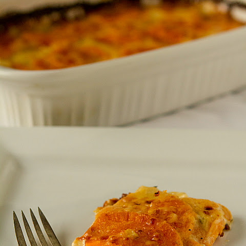 Sweet Potato Gratin with Gruyère