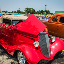 Car show by Judy Deaver - Transportation Automobiles ( car, automobile, classic )