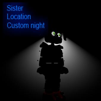 SL custom night fnaf parody