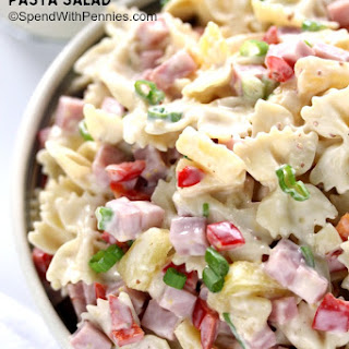 Bow Tie Pasta Salad With Pineapple Recipes