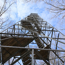 Observation tower in Perry County,Alabama  by Greg Fisher - Novices Only Objects & Still Life