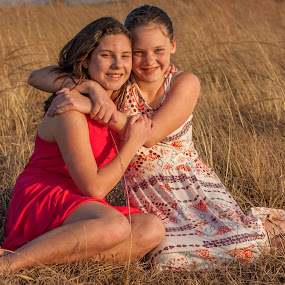 Sisters by Morne Kotze - Babies & Children Child Portraits (  )