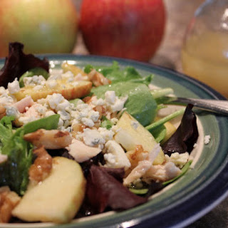 Apple-Walnut Chicken Salad and Balsamic Apple Vinaigrette