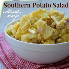 Southern Potato Salad (without mayo!)
