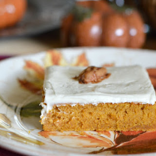 Maple Pumpkin Bars Recipes