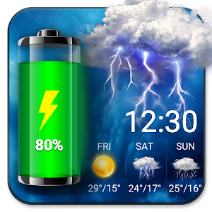Weather Widget & Battery Checker For PC