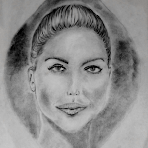 Charcoal Portrait Tutorial with drawing area For PC (Windows / Mac)