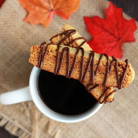 Cake Mix Pumpkin Biscotti