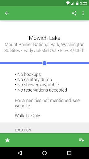 Kampnik - US & CA Campgrounds - screenshot