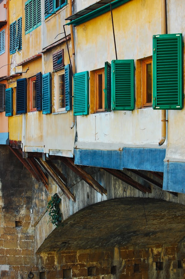 Ponte Vecchio by Justin Bowen - Landscapes Travel