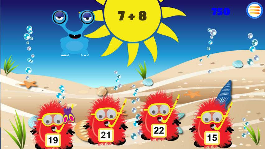 android Times Tables: Boo vs Monsters Screenshot 7