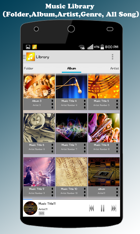ZZang Music Player Screenshot 6
