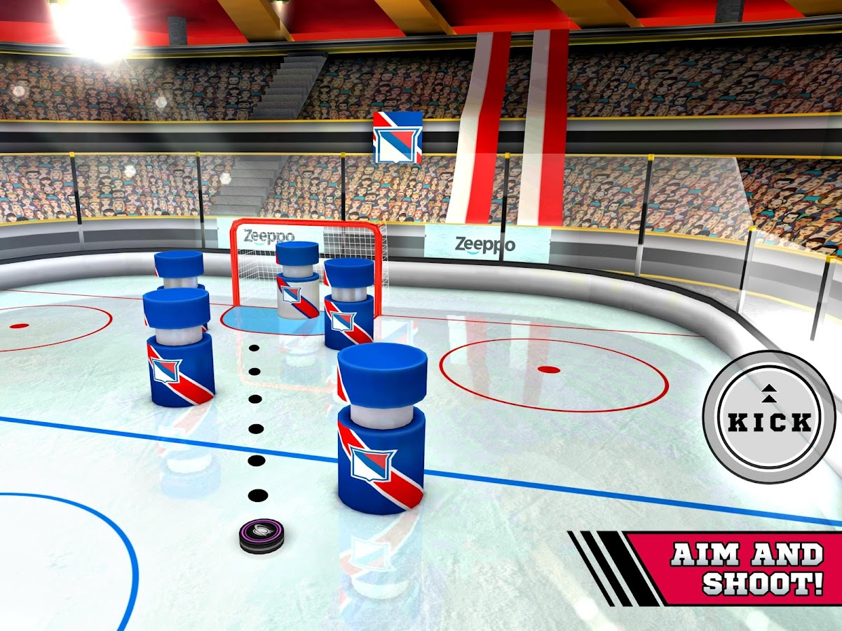 Pin Hockey - Ice Arena Screenshot 8