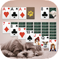 Game Solitaire Cute Puppies APK for Kindle
