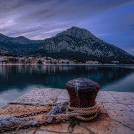 Morn by Bojan Bilas - City,  Street & Park  Vistas ( hdr, croatia, gradac )