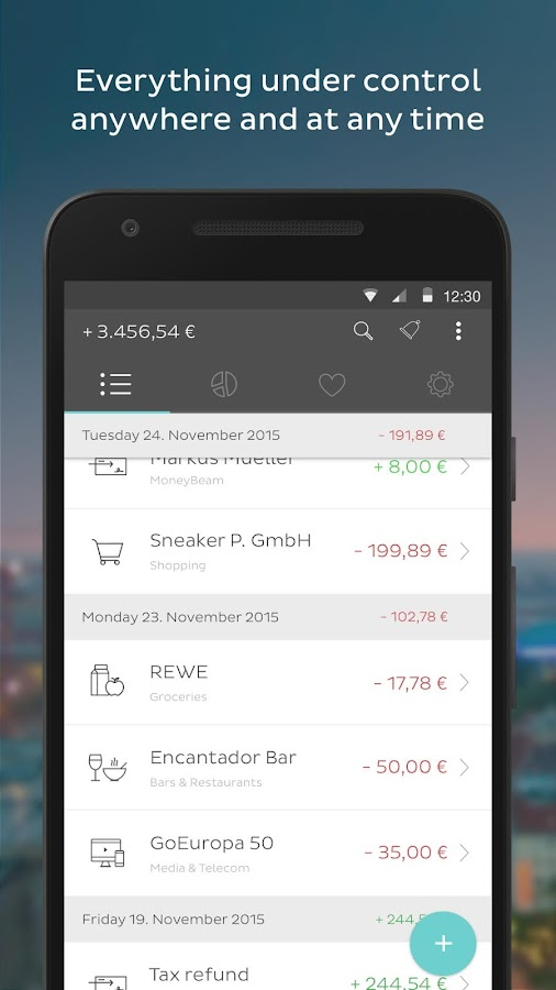 N26 Mobile Bank Account Screenshot 2