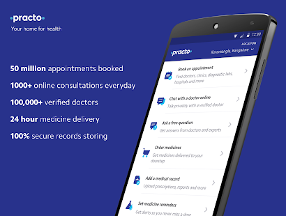 Practo - Your home for health APK for Kindle Fire