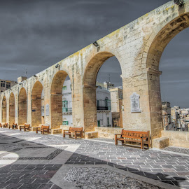 Arches by Maurizio Santonocito - Buildings & Architecture Public & Historical ( malta, nikon, historic )