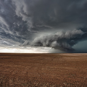 Colorado Supercell by Melanie Kern-Favilla - Landscapes Weather ( clouds, unique, sky, hdr, nature, weather, storm, tornado, wall cloud )