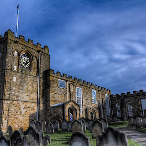 Saint Mary's by Mark Holm - Buildings & Architecture Places of Worship ( victorain, england, church, st mary's, whitby )