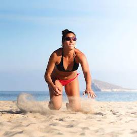 Beach Voley by Pepe Argente Castro - Sports & Fitness Other Sports ( beach voley, españa, benidorm, voley, playa, beach, spain, alicante )