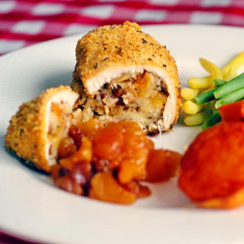 Apricot Pecan Stuffed Chicken Breasts