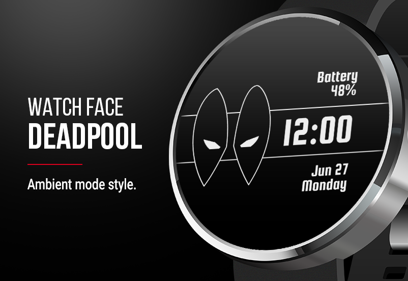 Deadpool Watch Face Screenshot 2