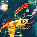 Cheat Hungry Shark World APK for Bluestacks