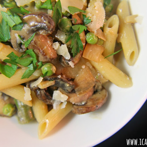 Penne With Mushroom Cream Sauce Recipes | Yummly