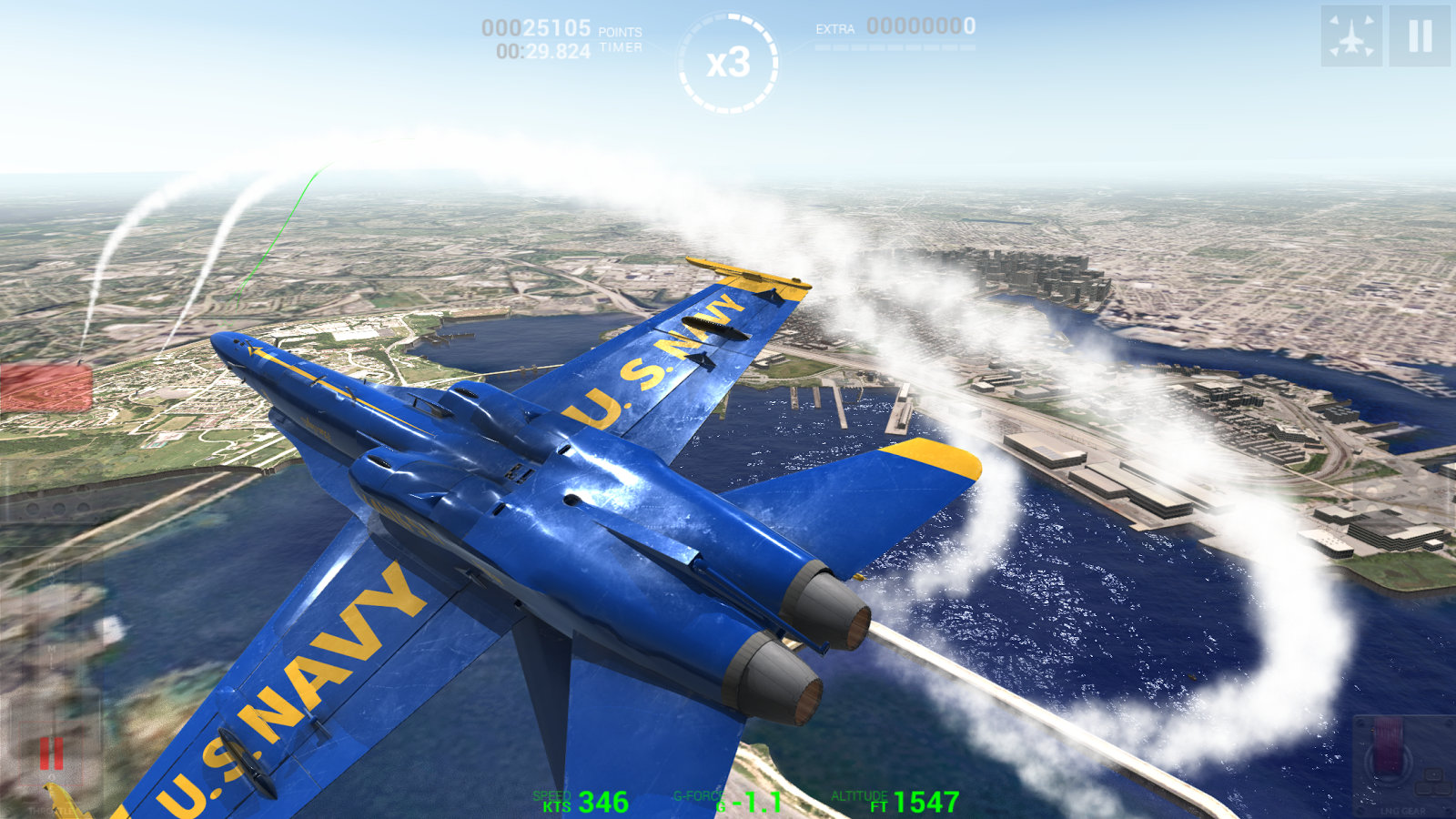 Blue Angels: Ready, Break! Screenshot 2