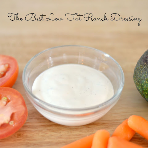 The Best Low Fat Ranch Dressing