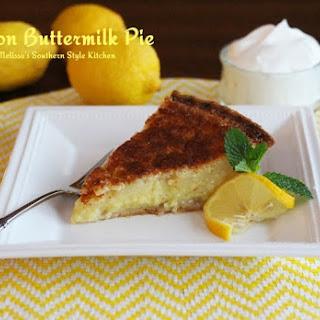 Lemon Buttermilk Pie Recipes
