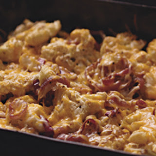 Cheesy Roasted Cauliflower
