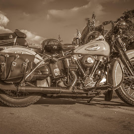 by William Boyea - Transportation Motorcycles ( motorcycle, motorbike, vintage, antique, bike )